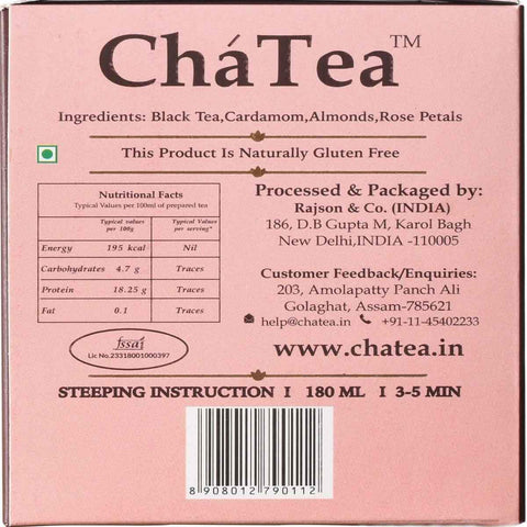 Mountain Rose Black Tea Bags