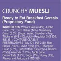 Muesli Fruit & Nut (2x180G)