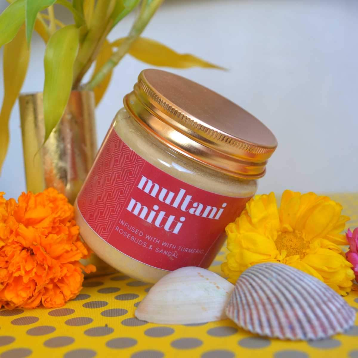 Multani Mitti (Fuller's Earth) Face Pack Powder