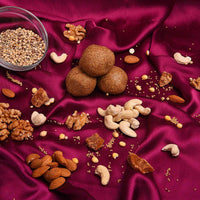 Multi-Millet(4 Millets) Nutlads(Ladoos) With Nutritious Sweetener-Palm Jaggery(Karupatti)