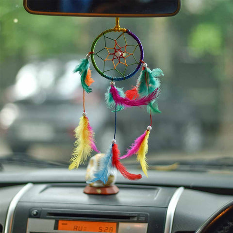MultiColor Dream Catcher Wall Hanging (Small )