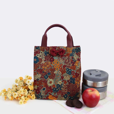 Lunch Bag/ Multipurpose Bag – Multi Floral