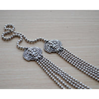 Multistrand Silver Temple Jewelry