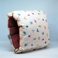 Nursing Arm Pillow – Butterfly Print With Plain Reverse