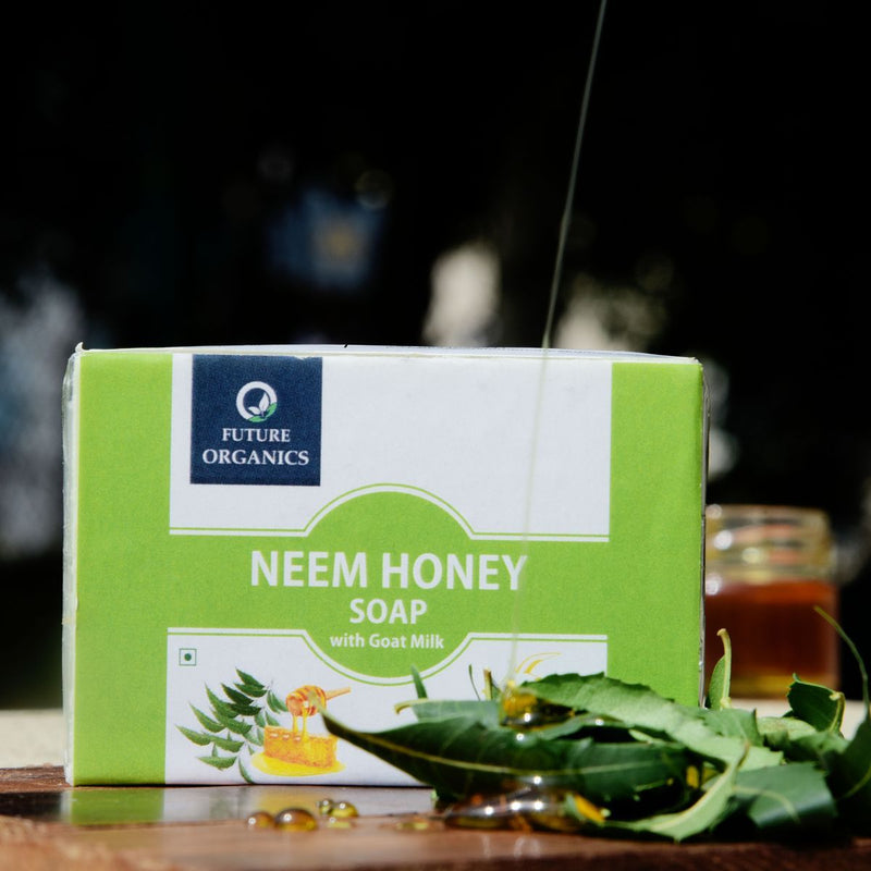 Neem Honey Soap With Goat Milk (Pack of 2)