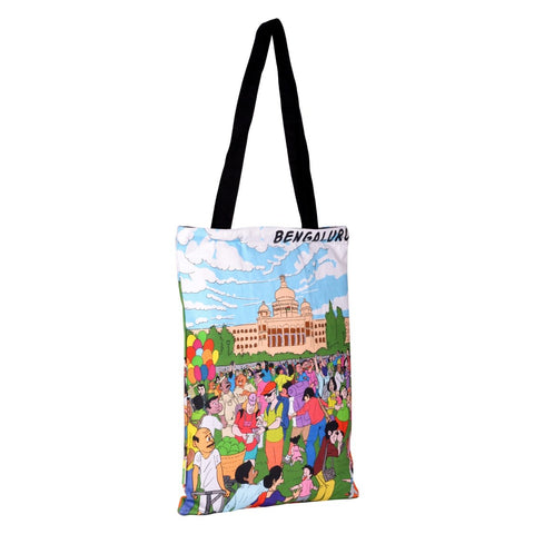Namma Bengaluru Vidhan Soudha Cotton Bag