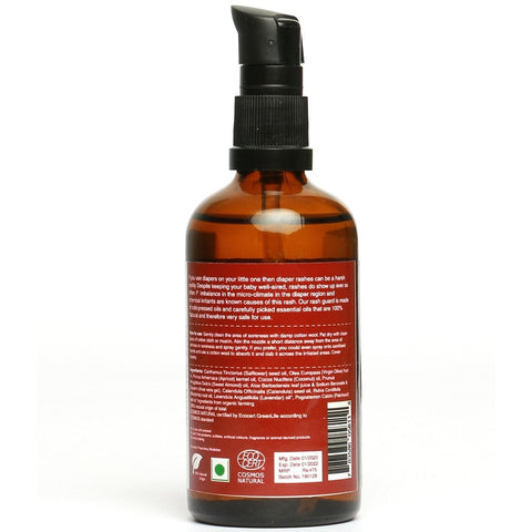 earthBaby 100% Natural Nappy-Rash Protection Oil