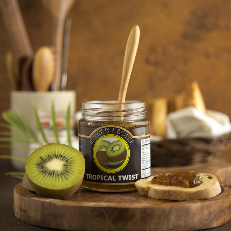 Tropical Twist - Kiwi Jalapeno Jam