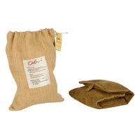 Natural Heating Pad - Wheat & Organic Flax Seed (Microwave Safe, Max: 2 mins)