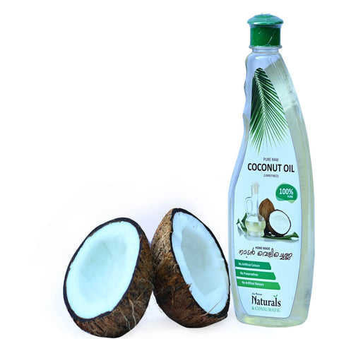Natural Homemade Pure Raw Coconut Oil Unrefined - From The Land Of Coconuts