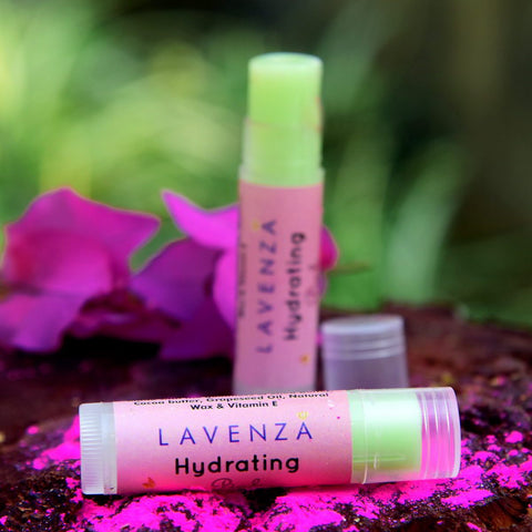 Hydrating Pink Lipstain + Lip balm (2 in 1) (SPF15 With Plant Butters & Fruit Oils)