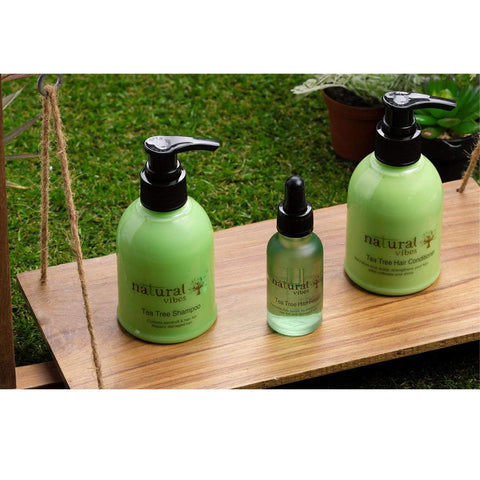 Ayurvedic Tea Tree Shampoo and Conditioner Combo (150 ml + 150 ml)
