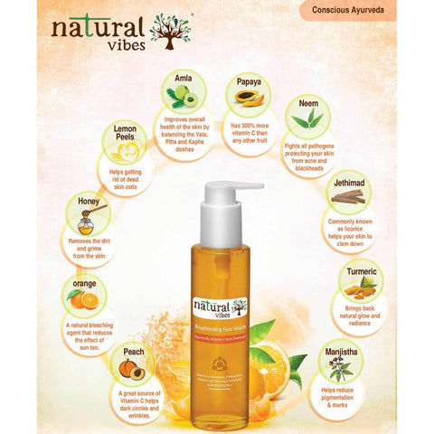 Ayurvedic Vitamin C Brightening Skin Care Regime