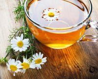 Naturally Dried Chamomile Tea I Night Time Tea I Calming & Relaxing Tea