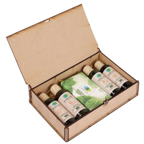 Organics  5-Piece Natural Bath & Body Gift Set