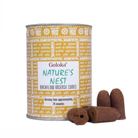 Nature's Nest Backflow Incense Cone Pack Of 3(24 Cones Each Pack)