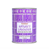 Natures Lavender Backflow Incense Cones Pack Of 3(24 Cones Each Pack)