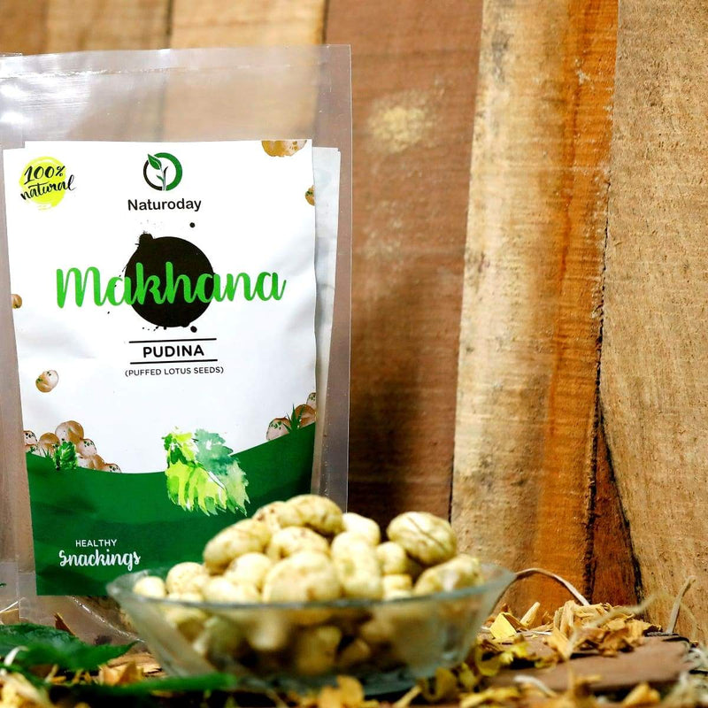 Naturoday Pudina Makhana (Pack of 5)