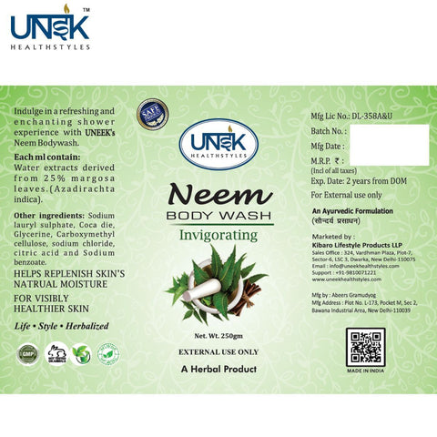 Neem Herbal Body Wash