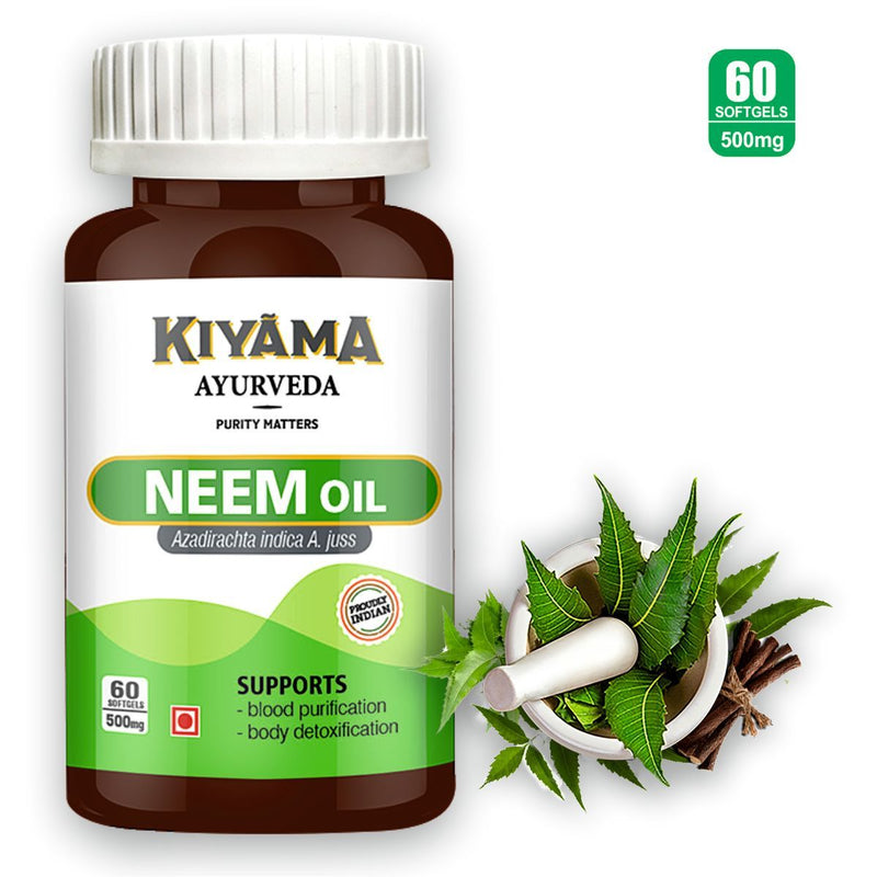 Neem Oil Softgel (60 Softgels)