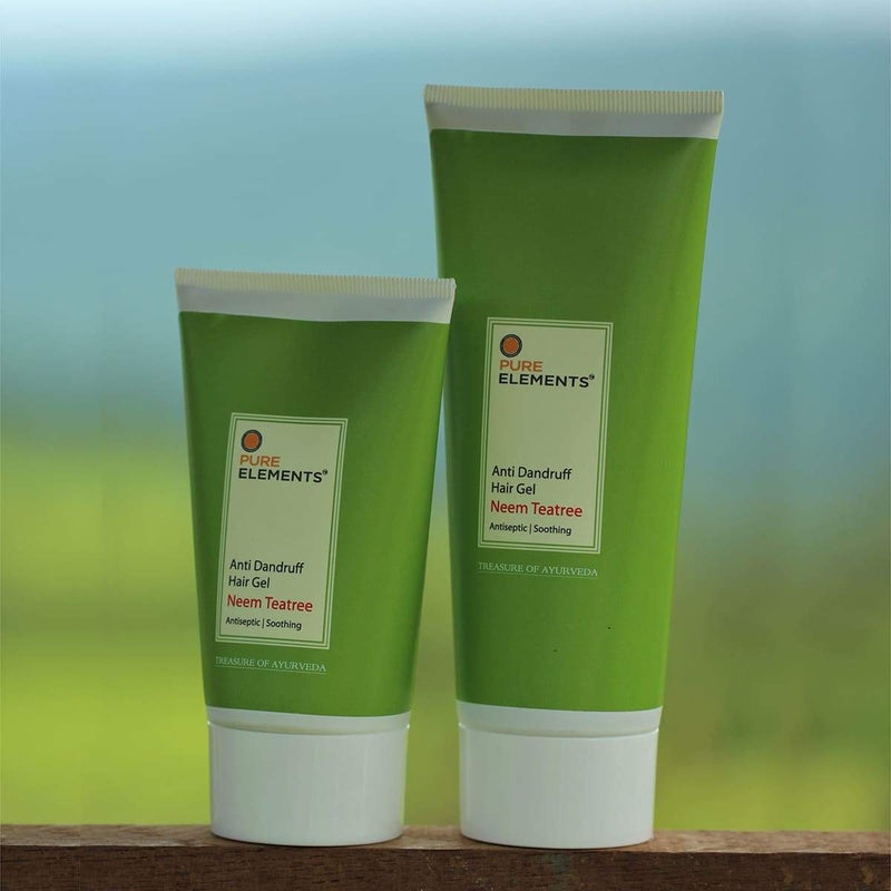 Anti Dandruff Hair Gel (Neem Teatree) - Antiseptic & Soothing