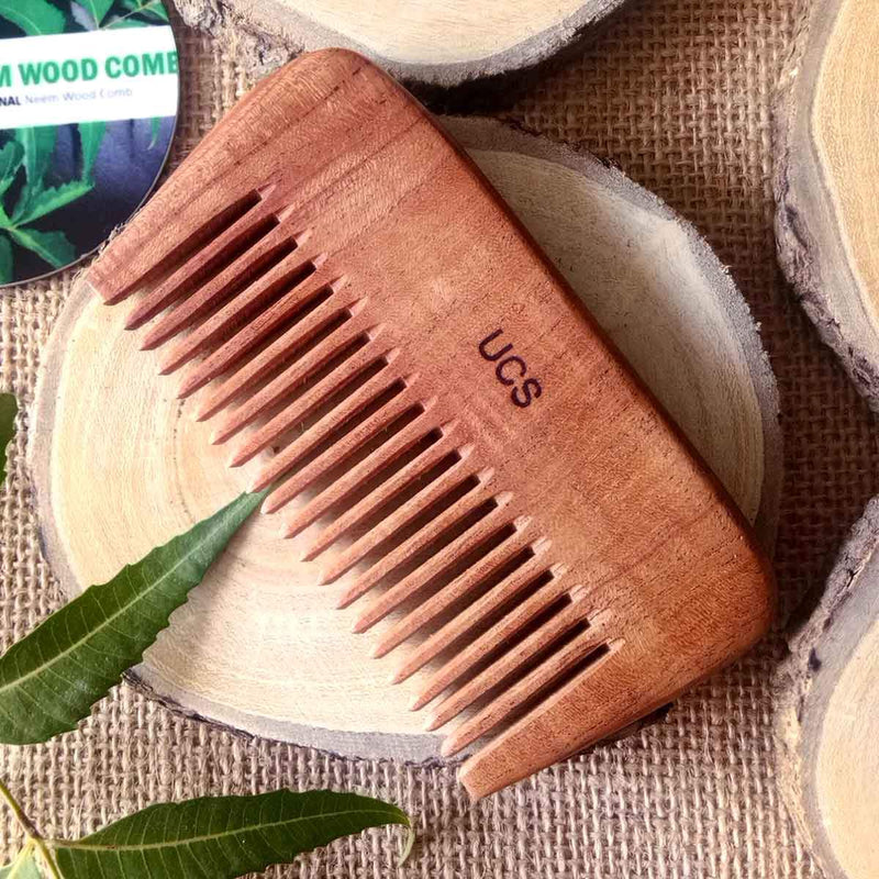 Neem Wood Beard Comb