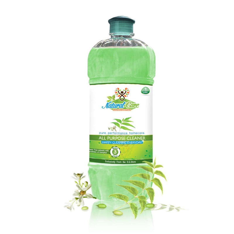 Neem & Camphor All Purpose Cleaner ( For kitchen Surfaces & Mopping)