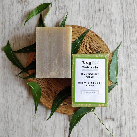 Neem and Neroli Handmade Soap (125g)