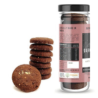 Dark Chocolate Cookies (Eggless)