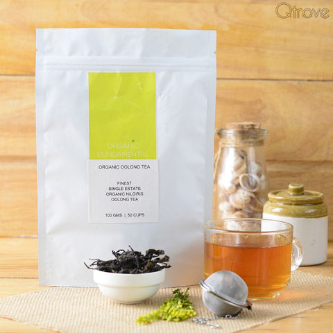 Organic Single Estate Nilgiri Oolong Tea