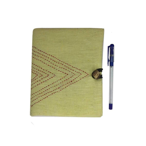Notebook With Embroidered Cover