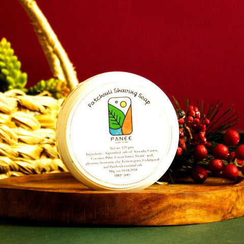 Nourishing Patchouli Shaving Soap