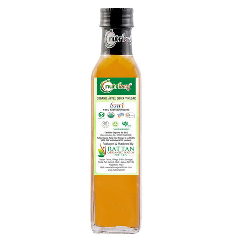 Certified Organic Apple Cider Vinegar 250ml