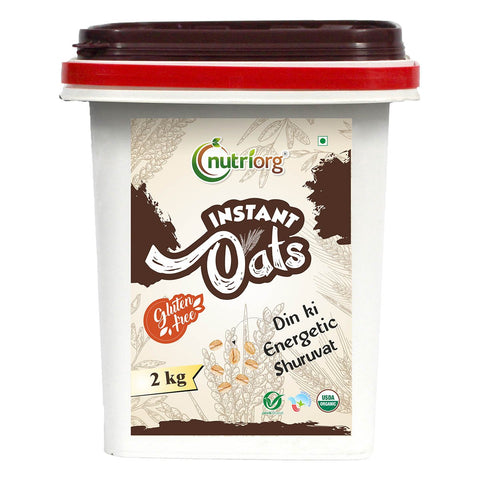 Certified Organic Instant Oats