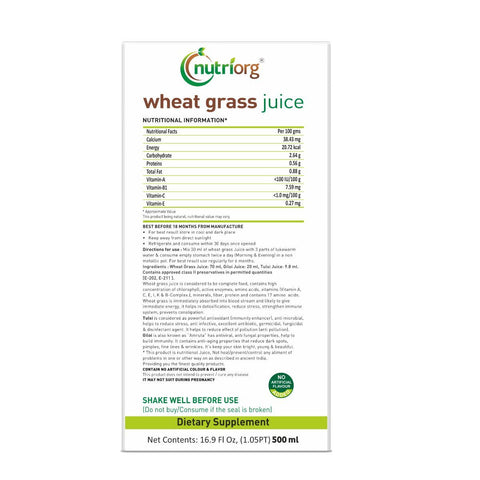 Wheatgrass Juice 500ml