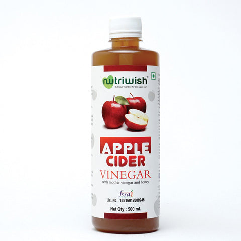 Apple Cider Vinegar With Mother Vinegar & Honey - Raw Unfiltered