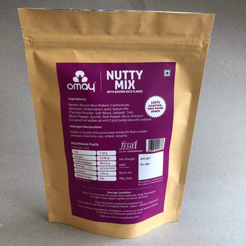 Nutty Mix - with Dry Fruits Pouch
