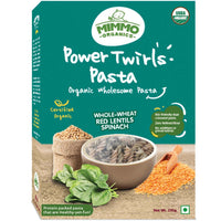 Power Twirls Lentils Pasta