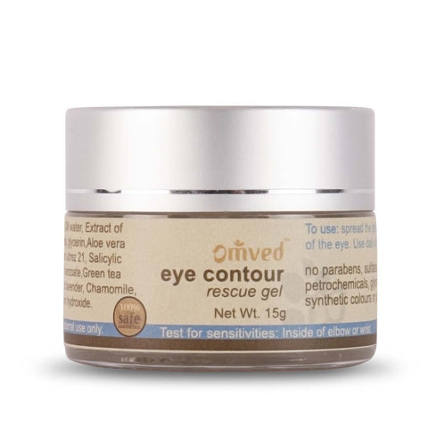 Eye Contour Gel for Dark Circles - For Puffy and Strained Eyes