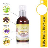 Little One Ayurvedic Hair & Body Baby Wash