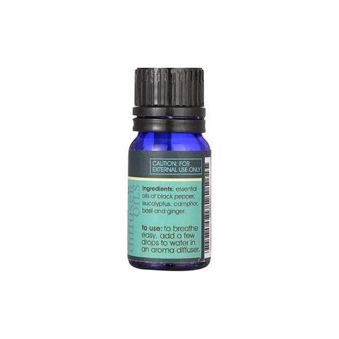 Sushwasa Pure Breathe Blended Diffuser Oil for Cold, Cough & Sinus (8 ml)