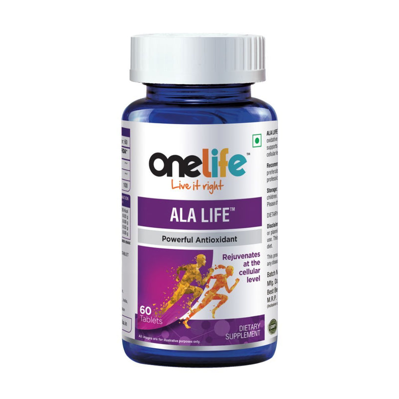 Onelife ALA Life Powerful Antioxidants (60 Tablets)