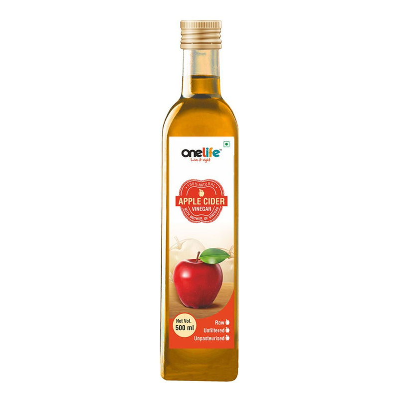 Onelife Apple Cider Vinegar With Mother Culture  500ml