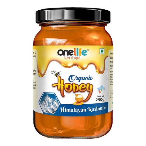 Onelife Organic Himalayan Kashmiri  Honey 250gm