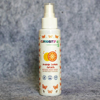 Orange Lemon Splash Organic Essential Oil Body Sprays (Alcohol Free & Organic) (For kids above 3 yrs)