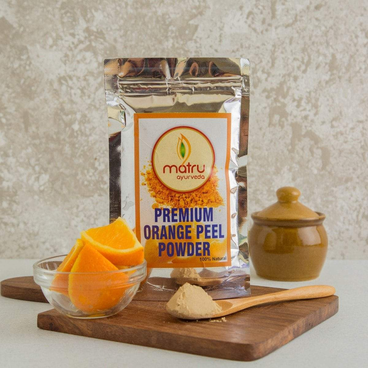 Orange Peel Powder-Premium & 100% Natural