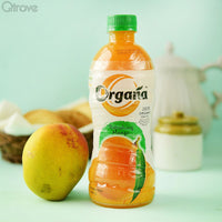 Refreshing Organic Mango Drink