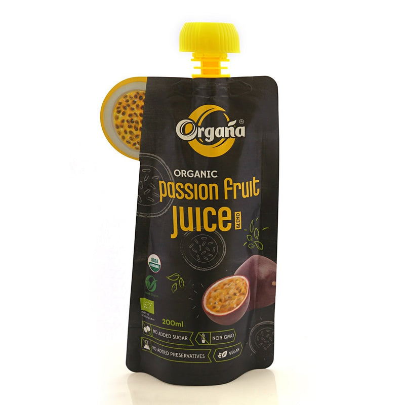 Organic Passion Fruit Juice (Pack of 8)