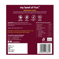 Baked Beetroot Crackers (Pack of 4)