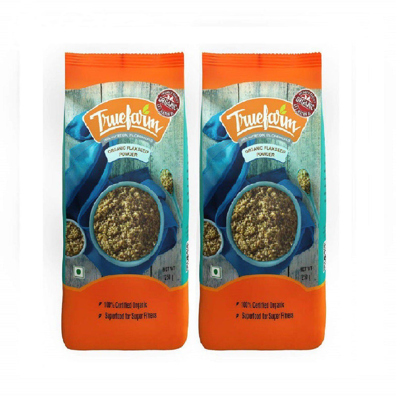 Organic Flaxseed Powder (Pack of 2)
